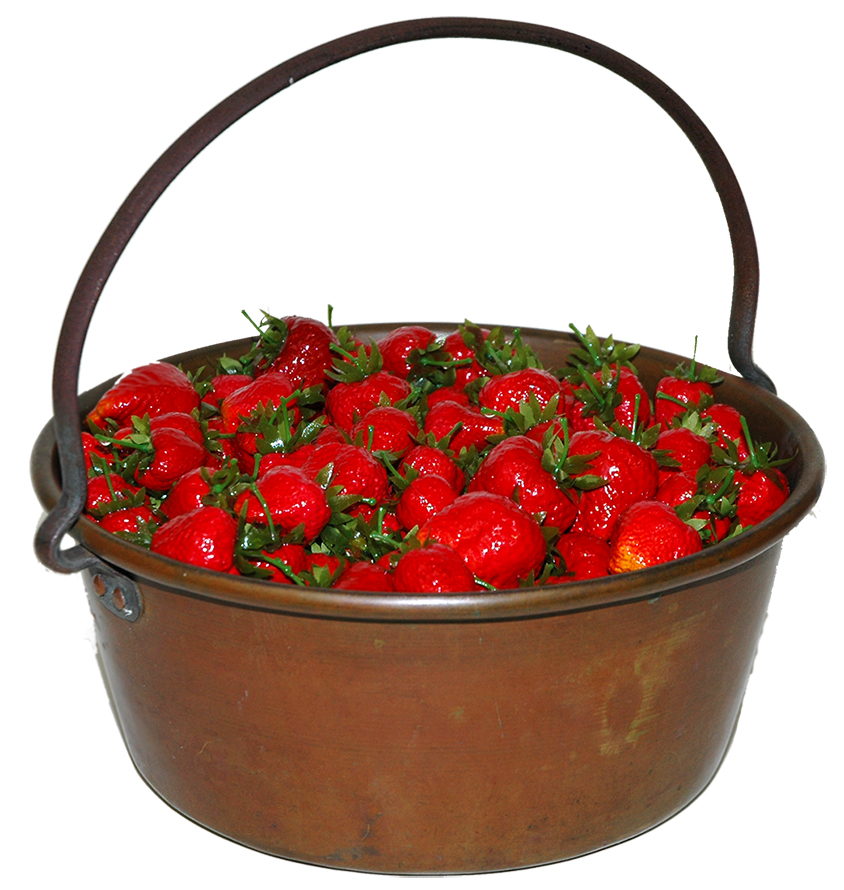 food-safety-in-the-past-preserving-kettle-with-strawberries